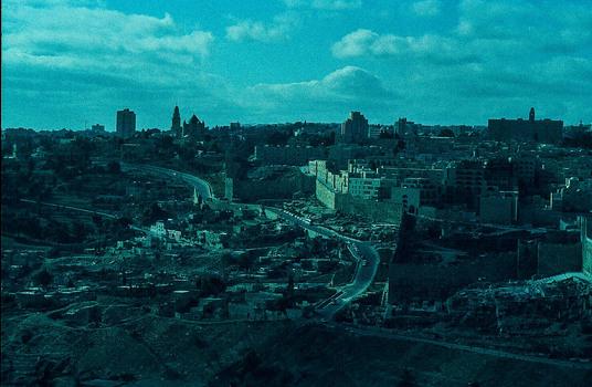 JERUSALEM VOR CA. 50 JAHREN
