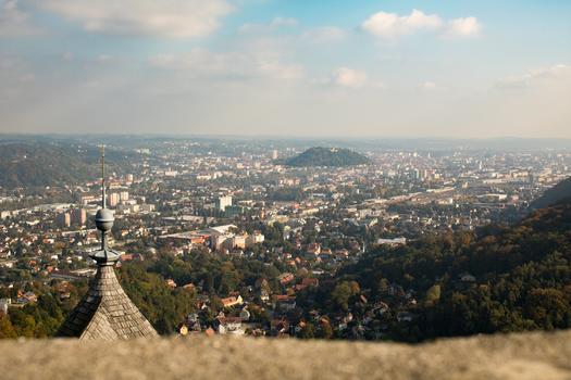 Grazer Schlossberg ganz klein