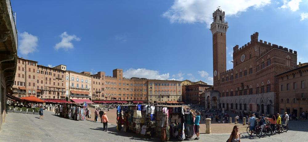 Piazza del Campo (Panorama)