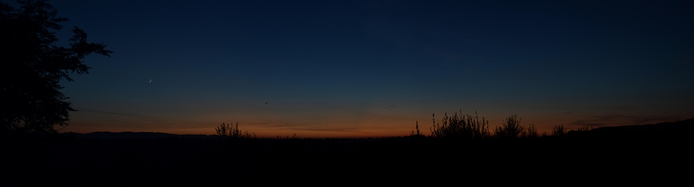Abend über der Maremma