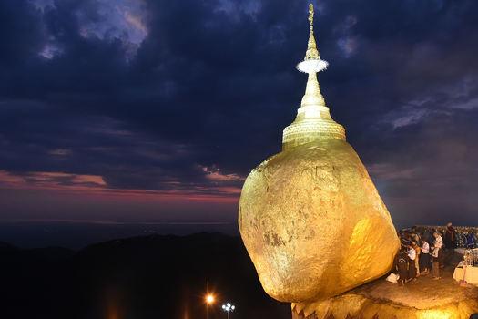 Felsenpagode myanmar