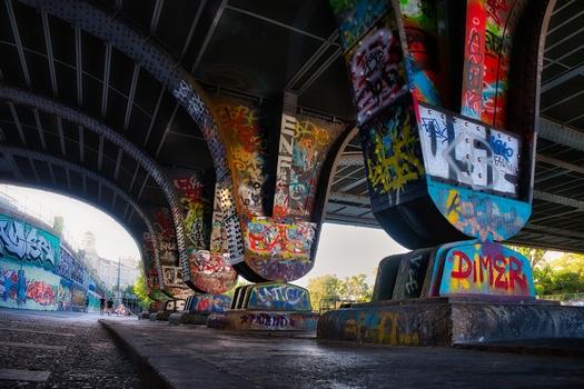 Donaukanal Augartenbrücke