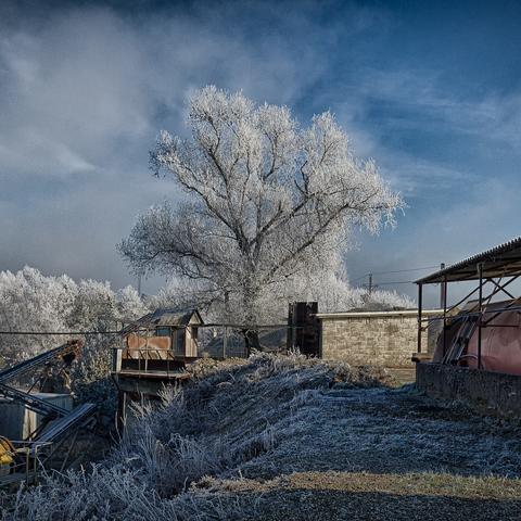 Industrieller Winter