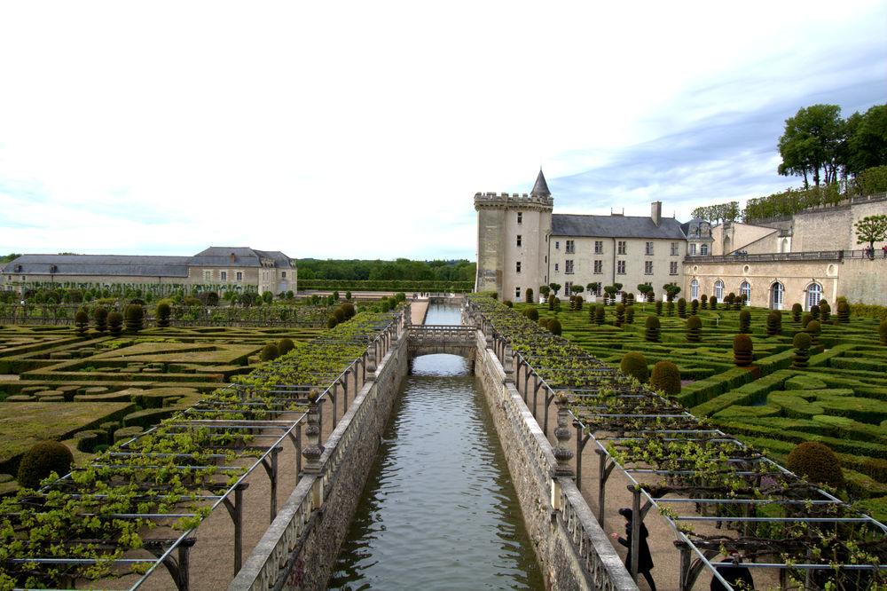 Loire-Schloss Villandry