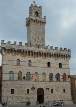 Montepulciano, das Rathaus