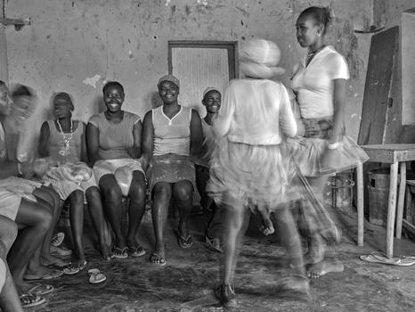 Batuku , ritueller Tanz auf Santiago Kap Verden