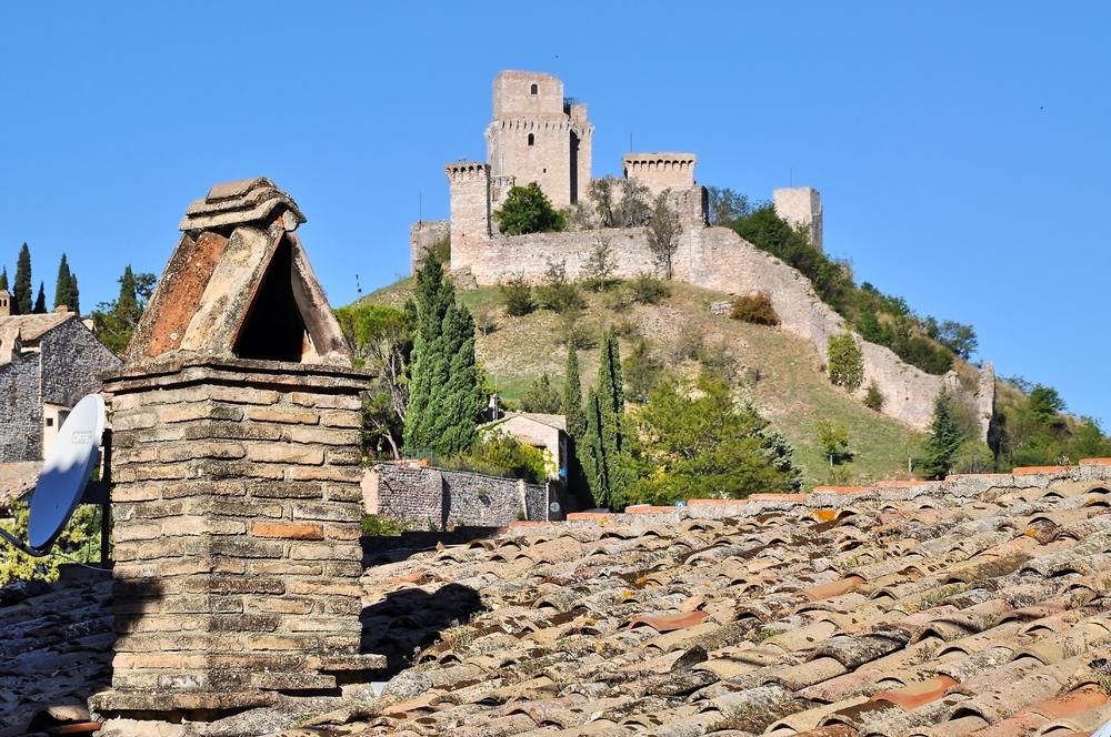 Rocca Maggiore - Assisi / Umbrien / Italien