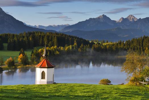 Die Kapelle am See