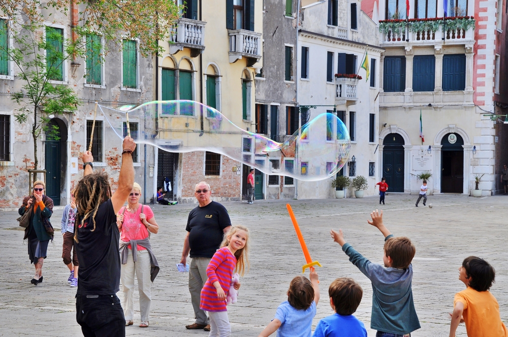 Campo San Polo... / Venedig
