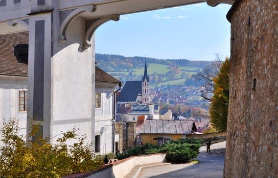 St. Veit-Kirche - Český Krumlov (Krumau) / Südböhmen