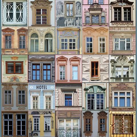 Prager Fenster (ohne Sturz!)