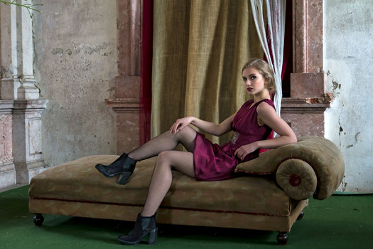 Fashion Portrait-Schloss