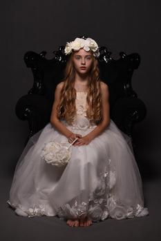 Prinzessin am Thron...