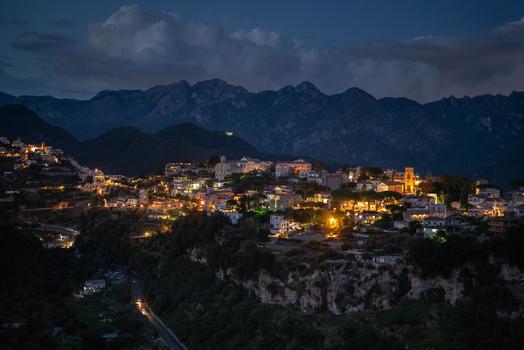Ravello bei Nacht