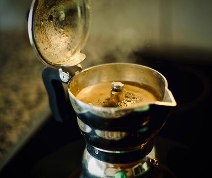 da Kaffee is fertig
