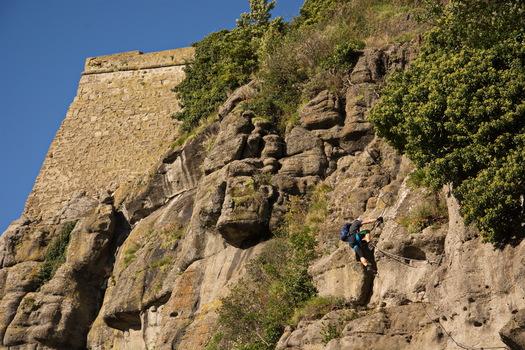 Klettern Riegersburg 4