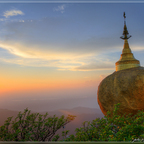 Goldener Felsen Myanmar