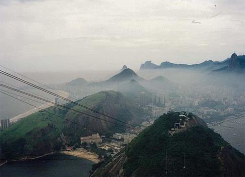 RIO DE JANEIRO IM SMOG VOR CA. 40 JAHREN
