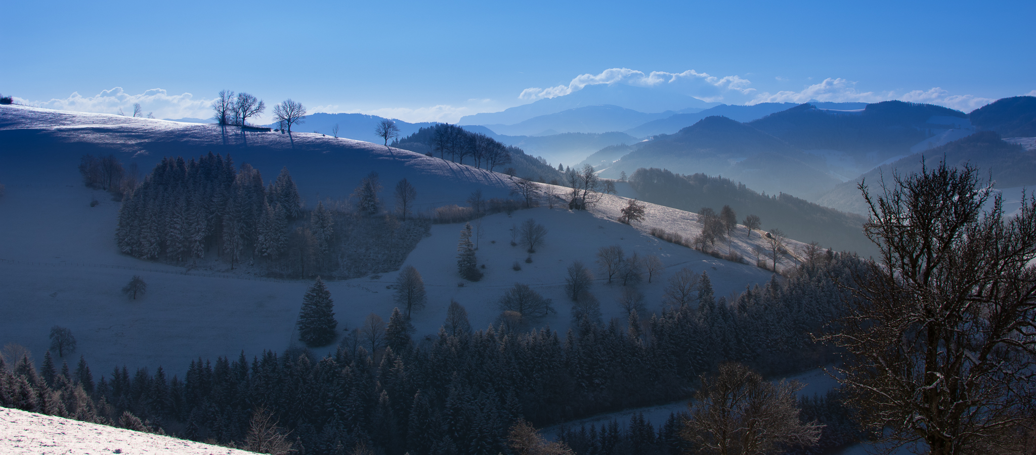 Winter Sonnenaufgang