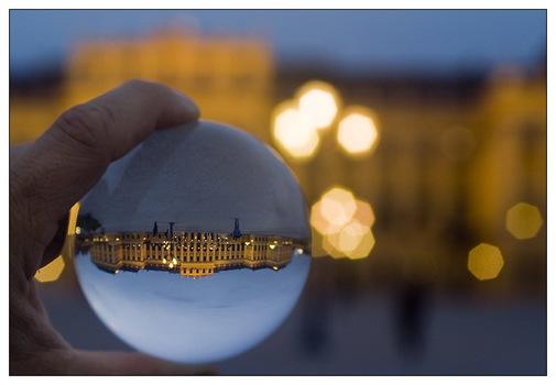 Schönbrunn im Glas