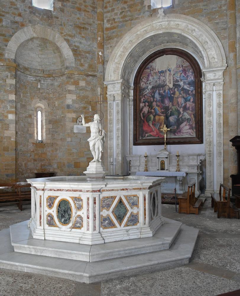 Battistero di San Giovanni Battista - Volterra