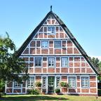 """Haus im """"Alten Land"""". Zwischen Hamburg und Stade."""