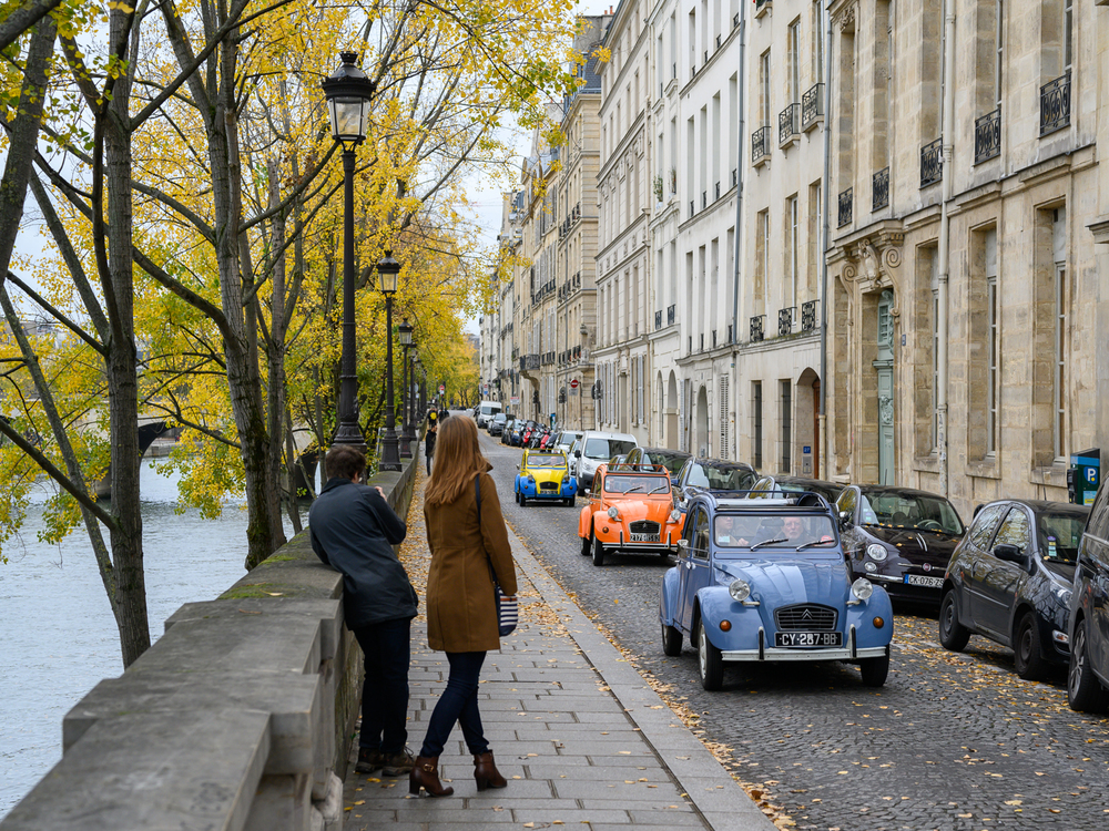 2CV Paris Tour