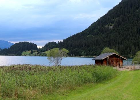 Hütte am Haldensee
