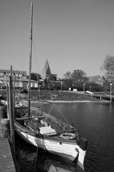 Alter Kutter im Hafen von Rerik, Ostsee