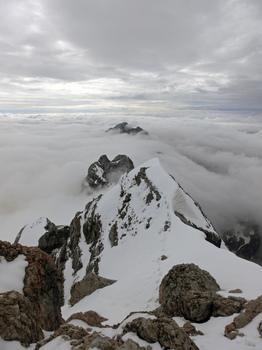 Am Grat über den Wolken