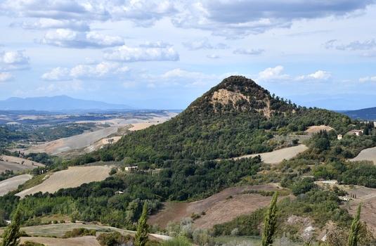Toskana zwischen Volterra und San Gimignano
