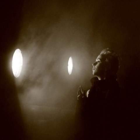 Im Licht einer Dampflok