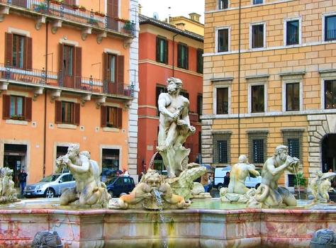 Fontana del Moro / Rom