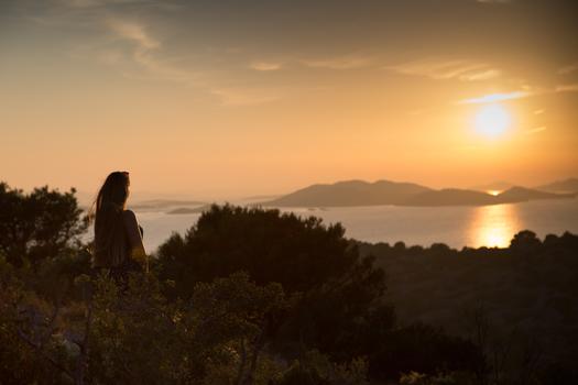 Sonnenuntergang auf Murter