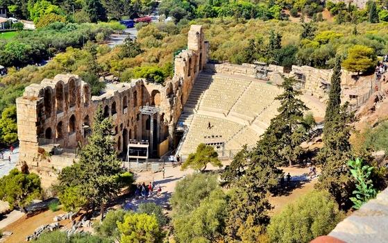 Odeon des Herodes Atticus / Athen (2)