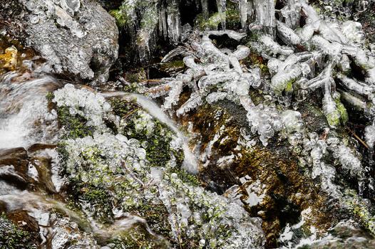 Eiszeit in der Stubenbergklamm #1