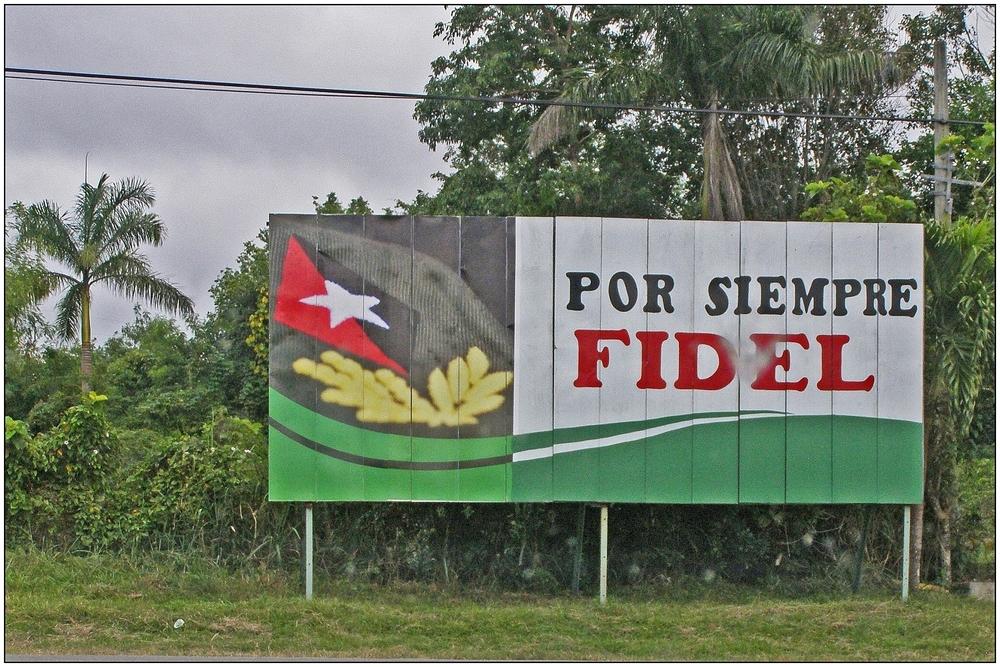 Kuba, por siempre Fidel