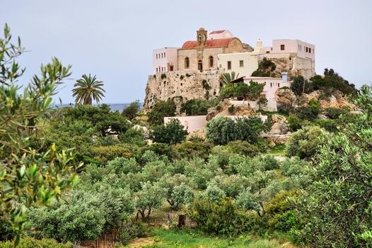 Moni Chrissoskalitissa / Kreta