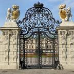 Eingangstor Schloss Belvedere