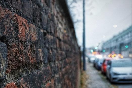 wall...street...light