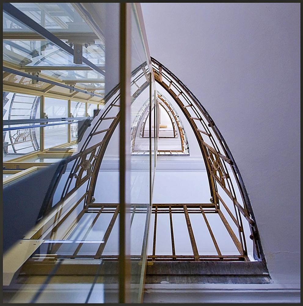 noch eine Treppenspiegelung