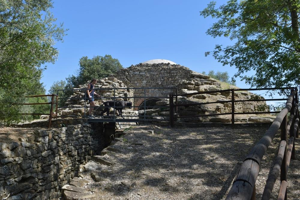 Tombe (Etruskergrab) in Vetulonia