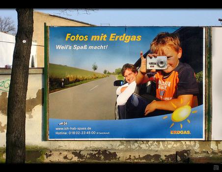 Erdgas Foto