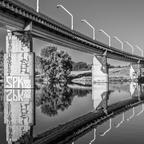 Wien Donauinsel Spiegelung II