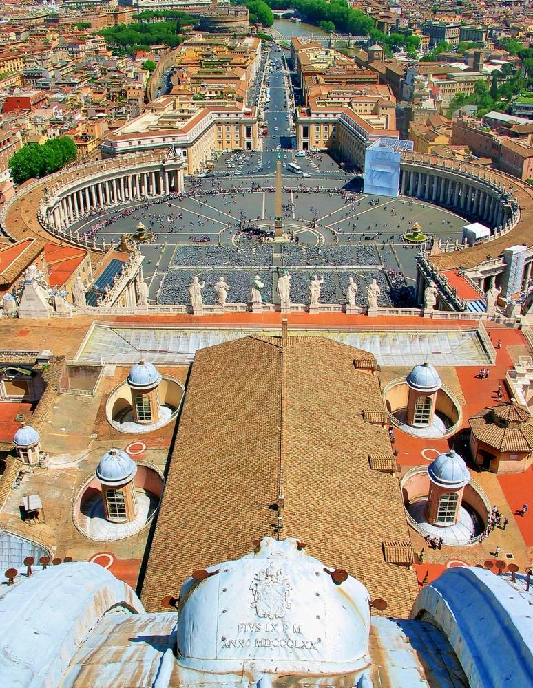 Petersplatz - Vatikan / Rom (3)