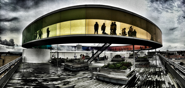 Aarhus, der Regenbogen