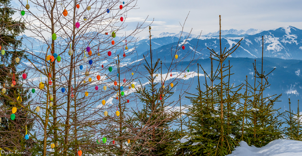 Ostern in den Bergen
