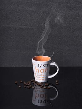 Hab mir einen Kaffee gemacht.