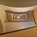 ein Treppenhaus in Rom