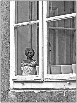 Fensterguckerin